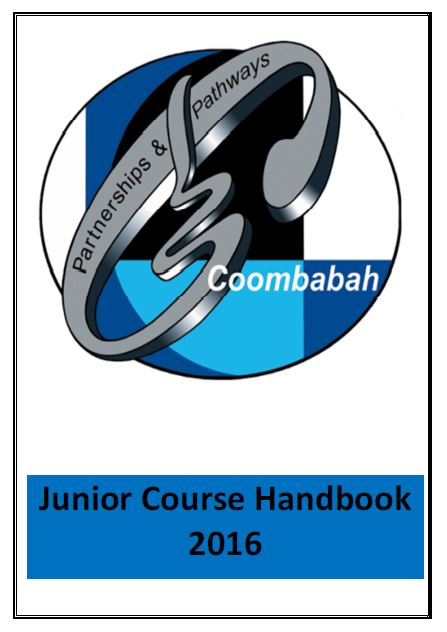 Junior Course Handbook 2016