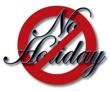 Monday 13 June No public holiday